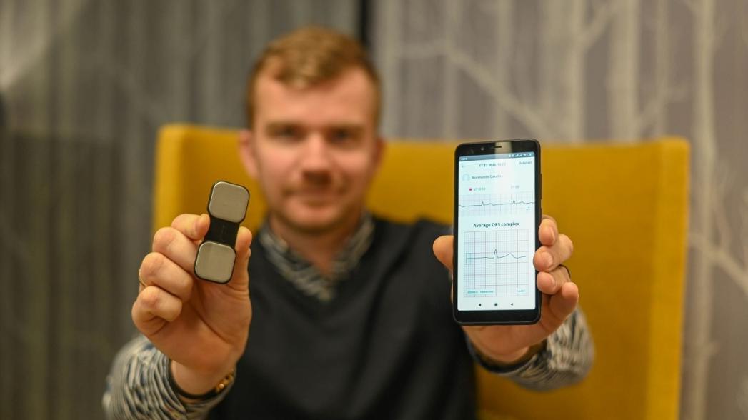 В Латвии разработан прибор для удаленного мониторинга сердечных заболеваний