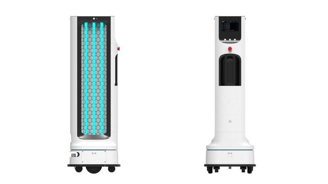 Дезинфекционный робот от LG Electronics