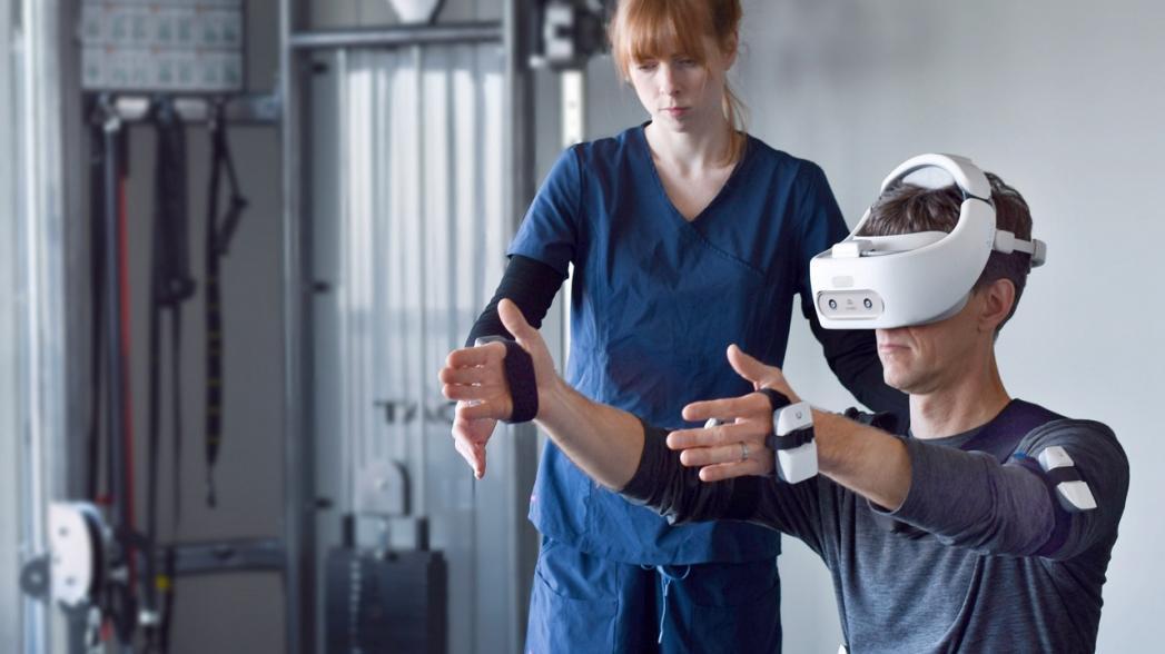 Виртуальная реабилитация после инсульта с реальными результатами