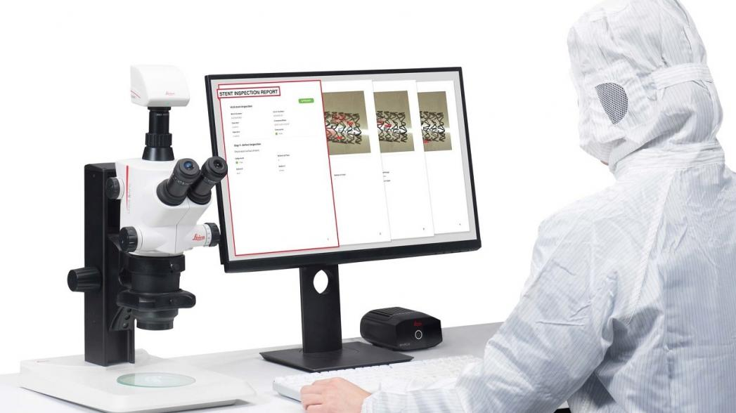 """Leica разработала """"умное устройство"""" для обеспечения надежного контроля качества в сфере производства медицинских устройств"""