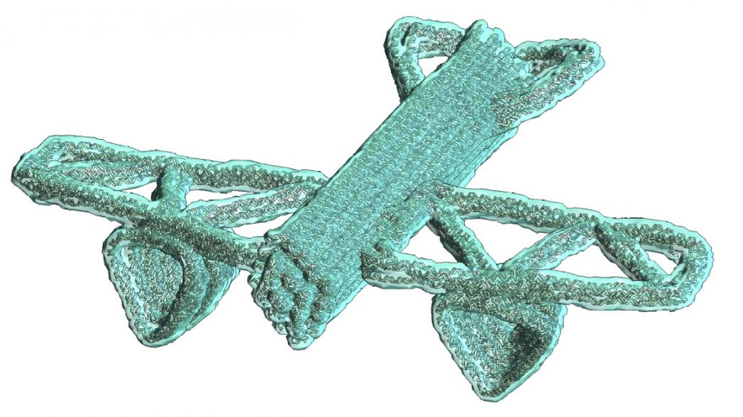 Программное обеспечение для создания нанороботов из ДНК