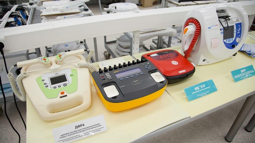 Новую модель умного дефибриллятора будет производить завод в Свердловской области