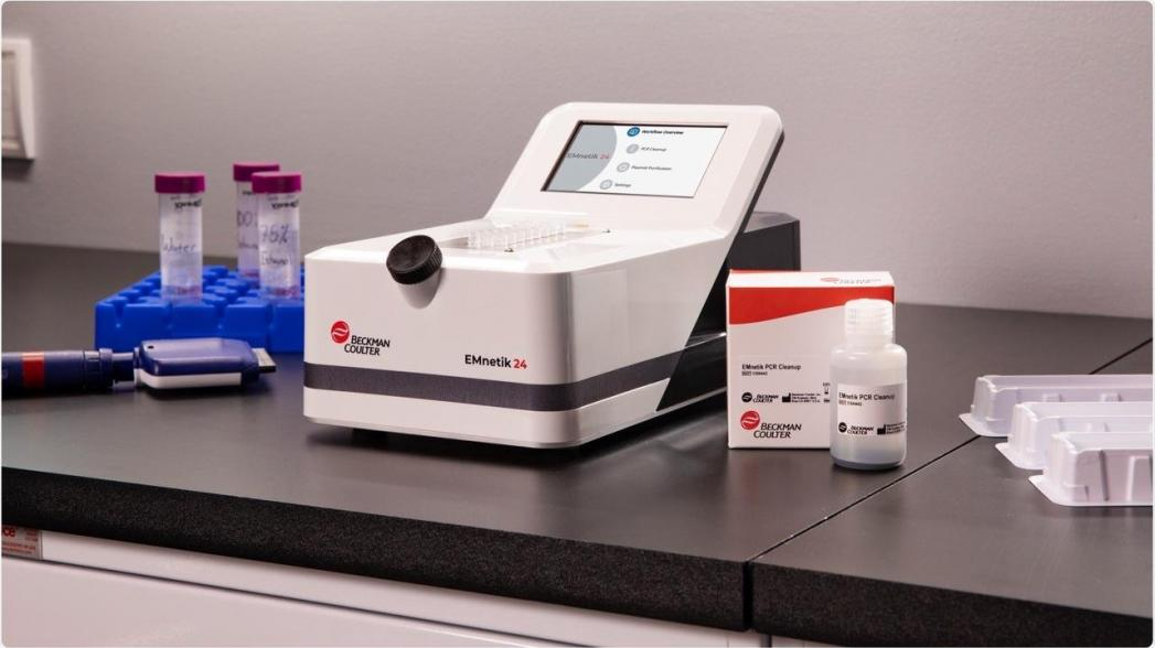 Beckman Coulter выпускает новое устройство, сокращающее время очистки при ПЦР