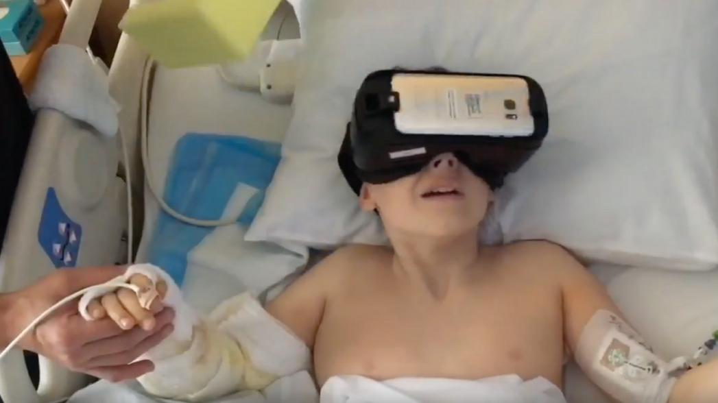 Использование VR для снижения боли тестируется сразу в 5 клинических исследованиях