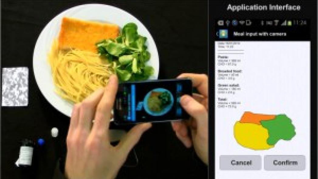 Камеру смартфонов приспособили для подсчета углеводов в пище