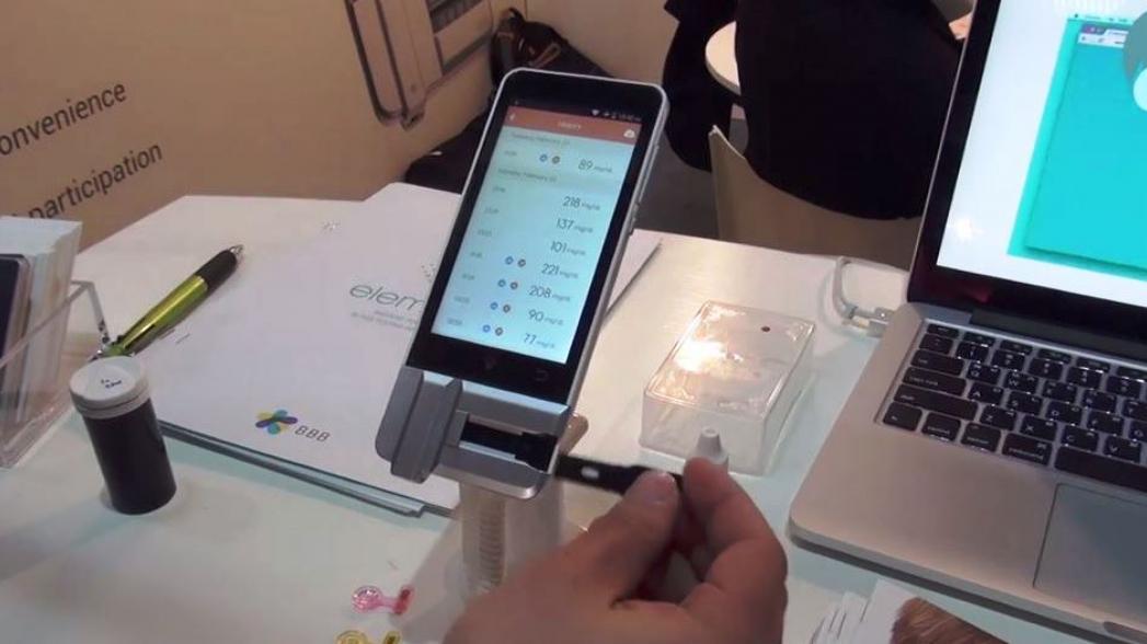 BBB Elemark 7: Портативный биохимический анализатор крови. EverCare на Mobile World Congress 2016