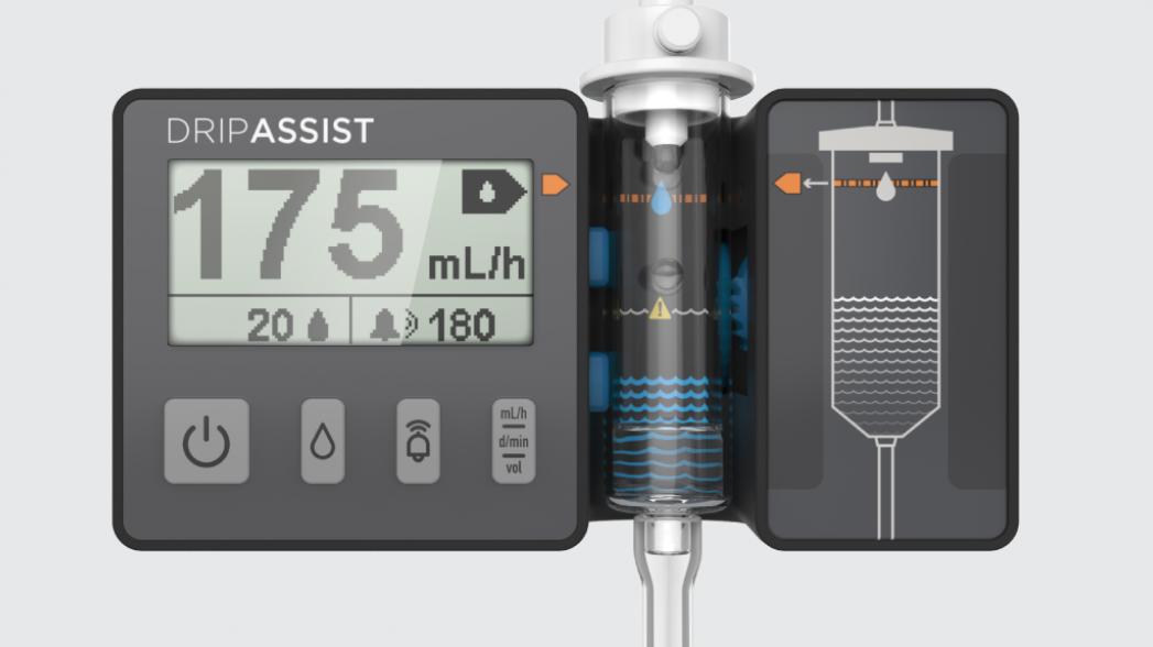 Инфузионный монитор DripAssist теперь можно купить и в Европе