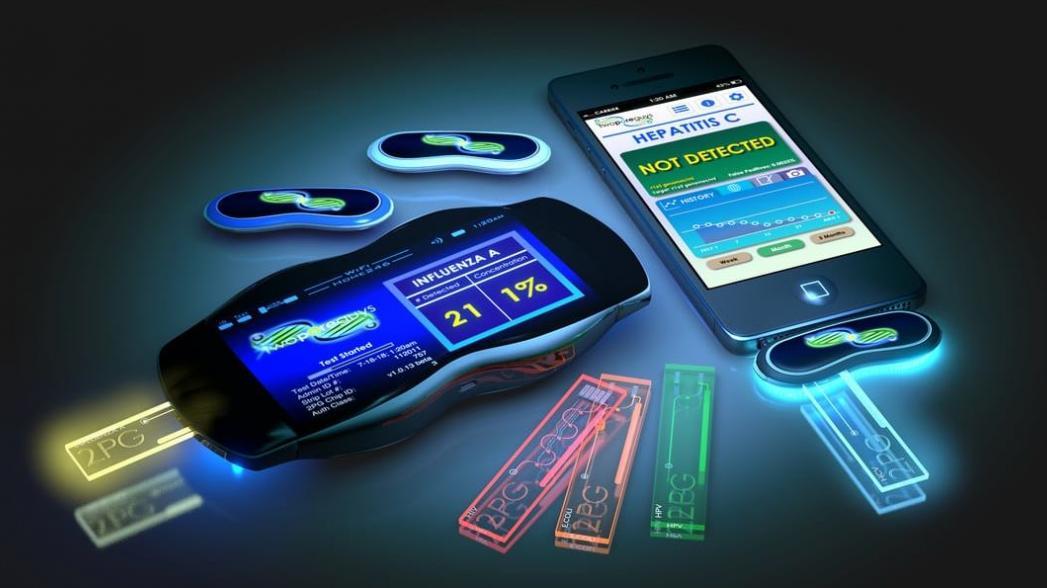 Ручной нанопоровый секвенсор скоро появится на рынке
