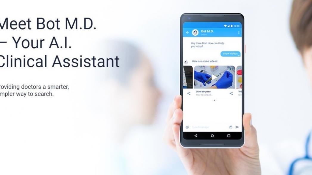 Чатбот Bot M.D. поможет врачам в их работе