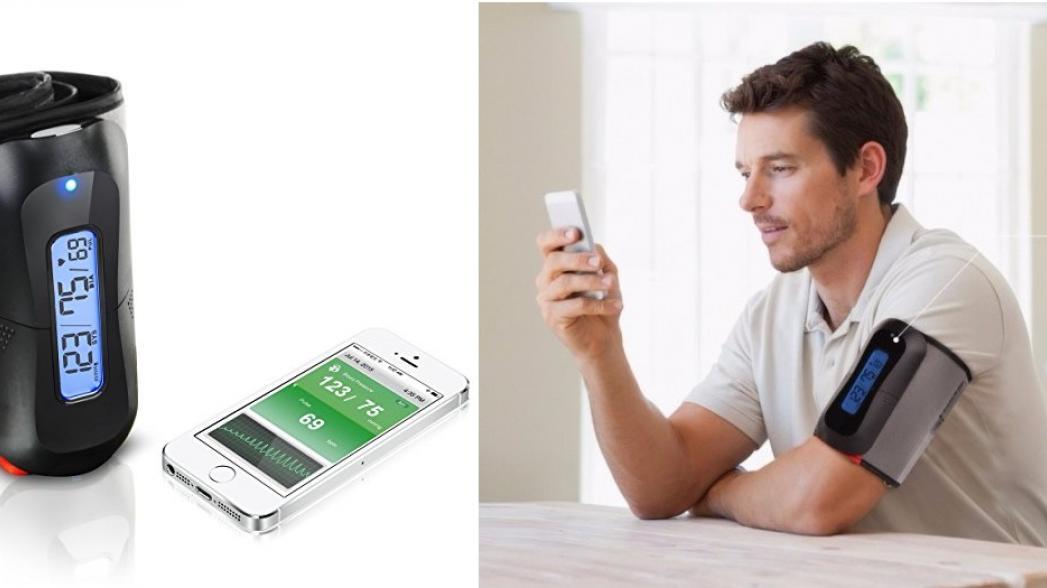 Монитор давления MobileHealth: удобство как функция