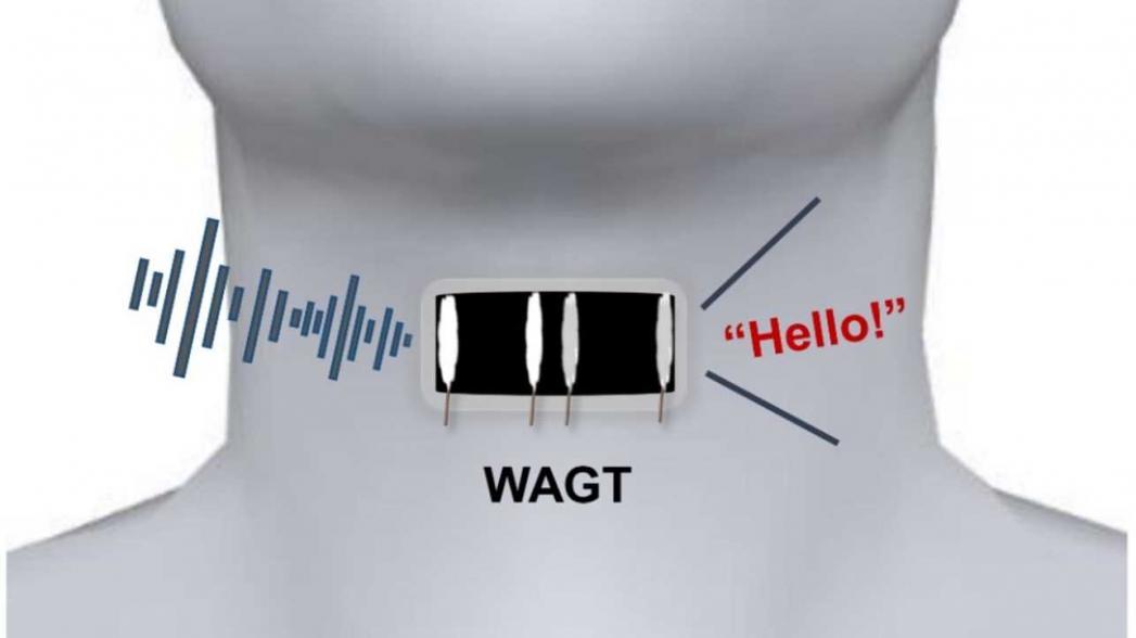 Искусственное горло поможет говорить людям, потерявшим эту способность