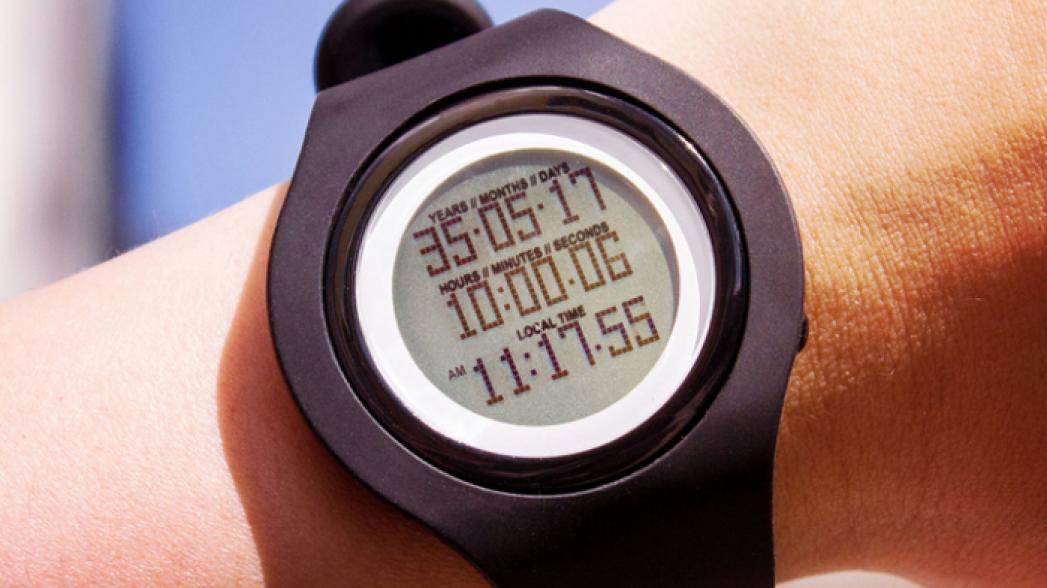 Часы, показывающие время вашей смерти, поступили в продажу