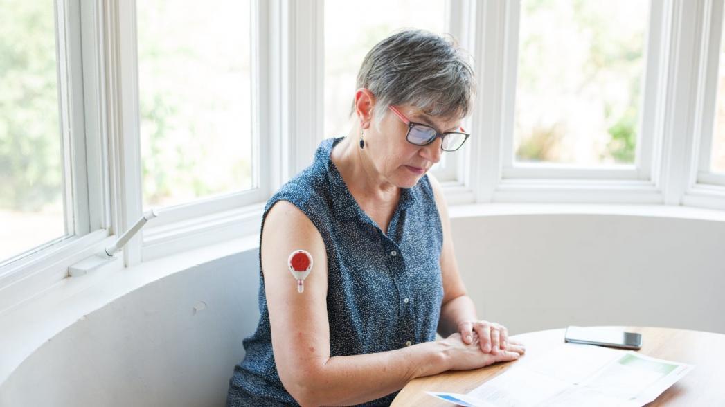 Пластырь для домашнего анализа крови