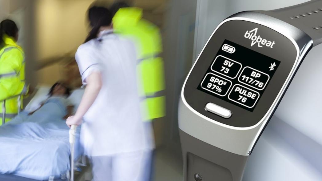 Biobeat: «умные» часы, контролирующие давление