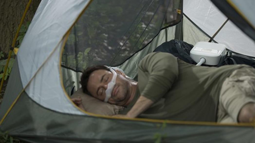Портативная система для комфортного сна без апноэ