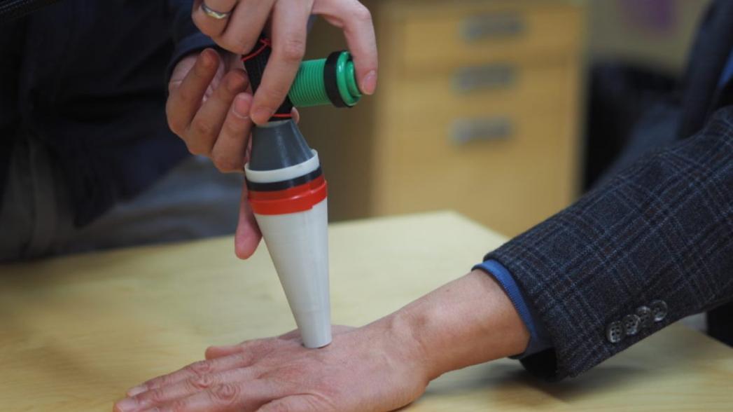 Портативное устройство использует лазер для диагностики рака кожи