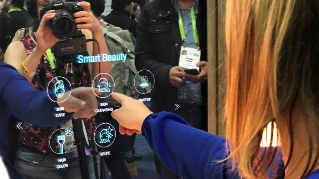 """""""Умное"""" зеркало синхронизируется с душем, зубной щеткой и прочими устройствами в ванной комнате"""