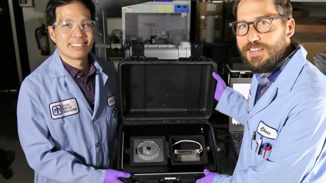 SpinDx: Мобильная система тестирования на наличие вирусов, бактерий и токсинов