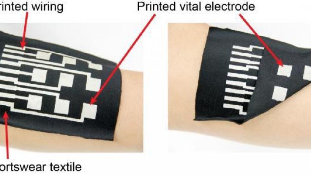 Проводящие чернила для носимых технологий нового поколения