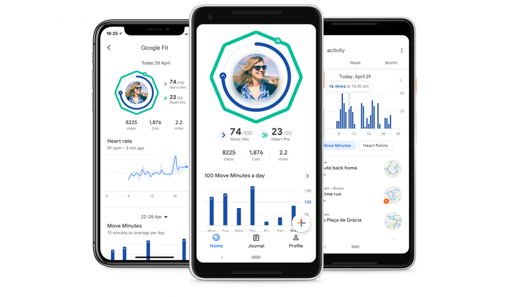 Google Fit уже на iPhone