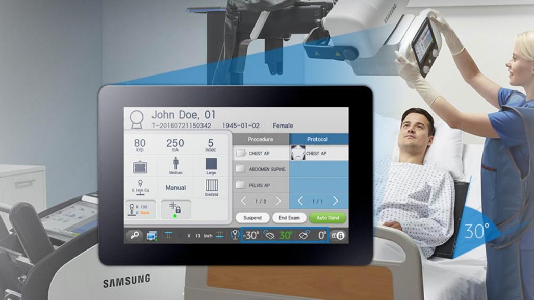 Новая цифровая рентгенографическая платформа от Samsung