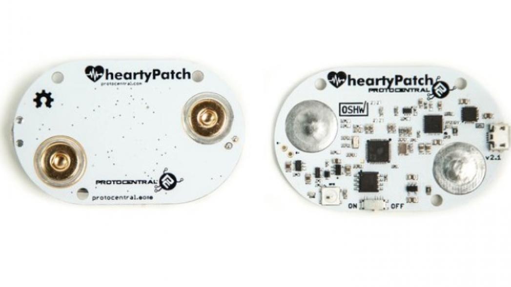 HeartyPatch: сенсор для контроля частоты сердцебиения и ее вариативности