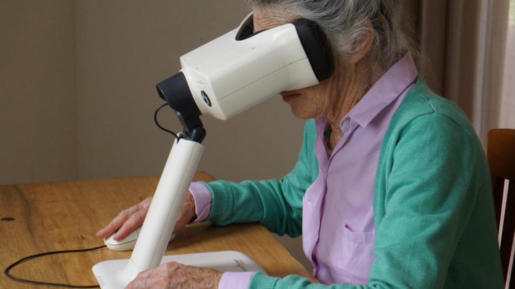 Домашняя система оптической когерентной томографии Notal Vision