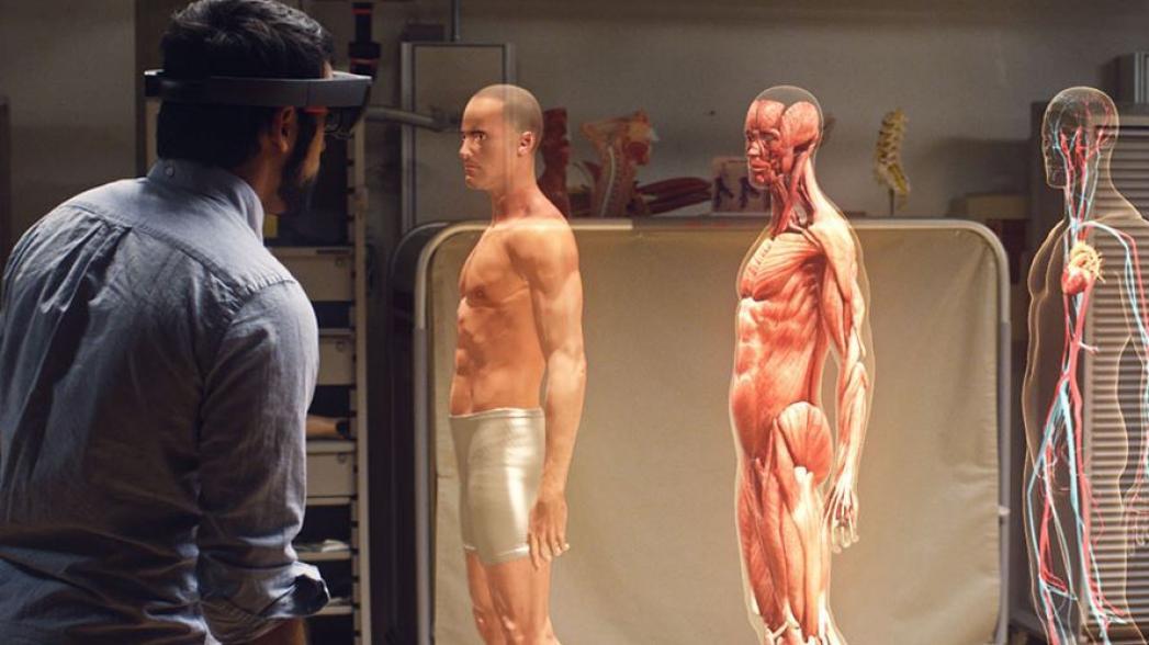 HoloLens как инструмент медицинского обучения