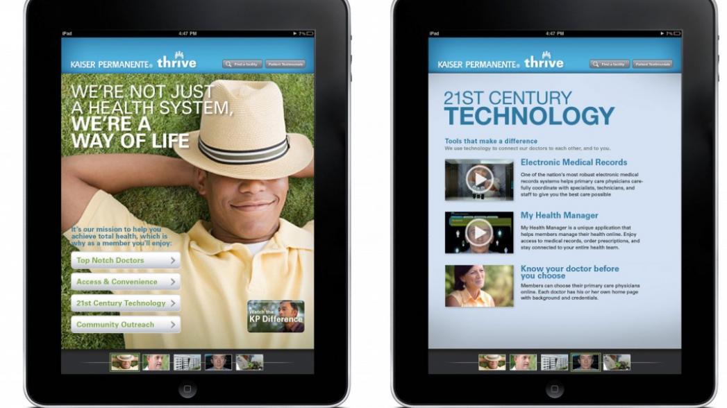 Медицинскую онлайн-платформу Kaiser Permanente использует 4.9 млн человек