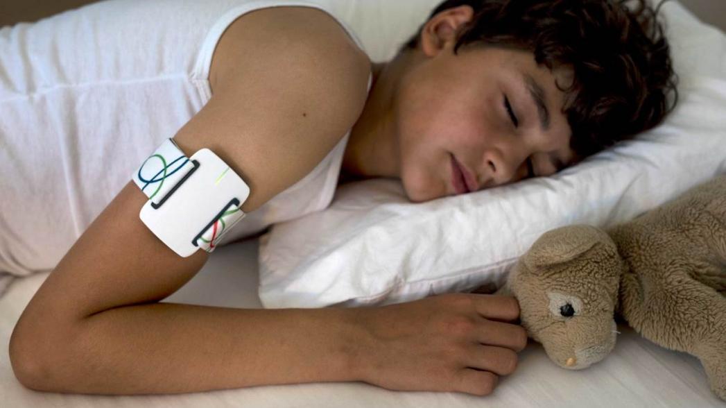 Устройство для регистрации ночных эпилептических припадков
