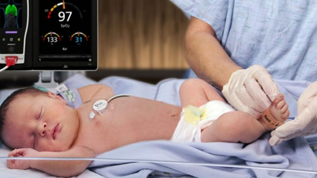 Маленький сенсор дыхания для маленьких пациентов