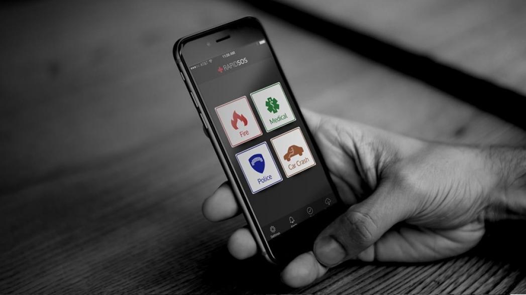 """RapidSOS предоставляет нужную информацию для """"Неотложной помощи"""""""