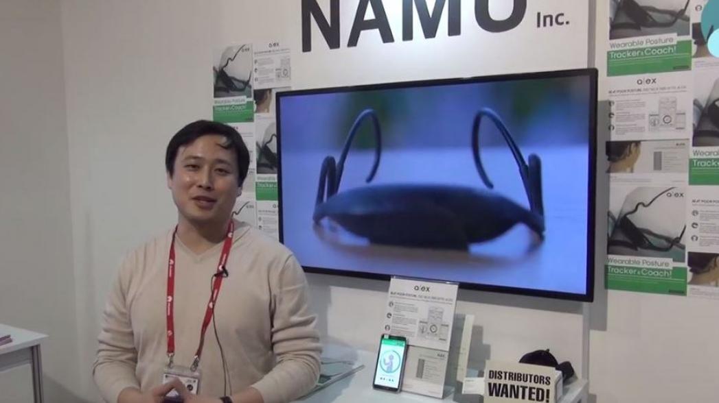 Корректор осанки Namu Alex. Evercare на Mobile World Congress 2016