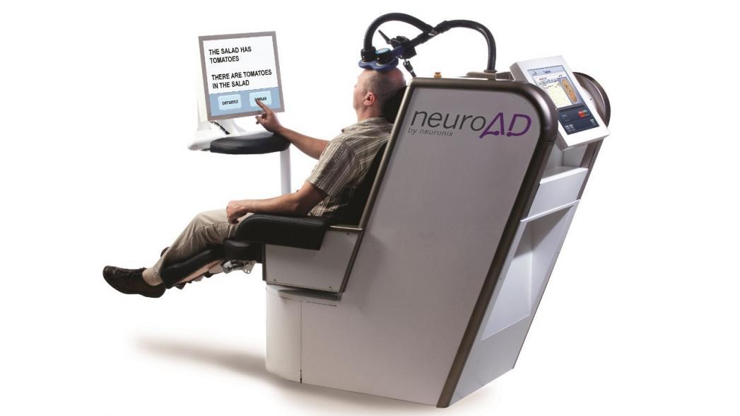 Первое устройство, которое лечит болезнь Альцгеймера