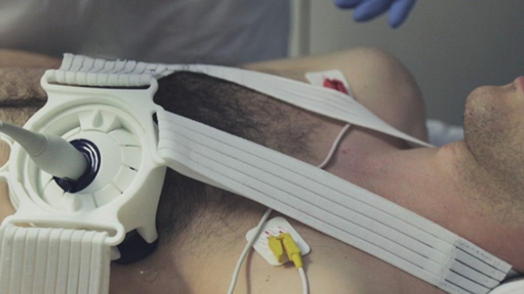 Система для непрерывных ультразвуковых исследований без использования рук