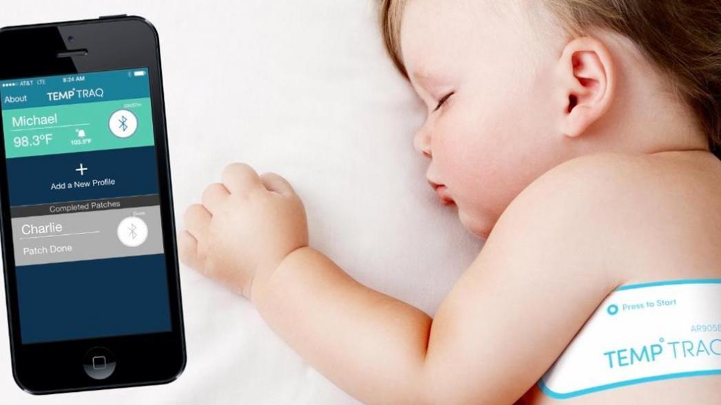 CES 2017: Ненавязчивая система контроля температуры ребенка