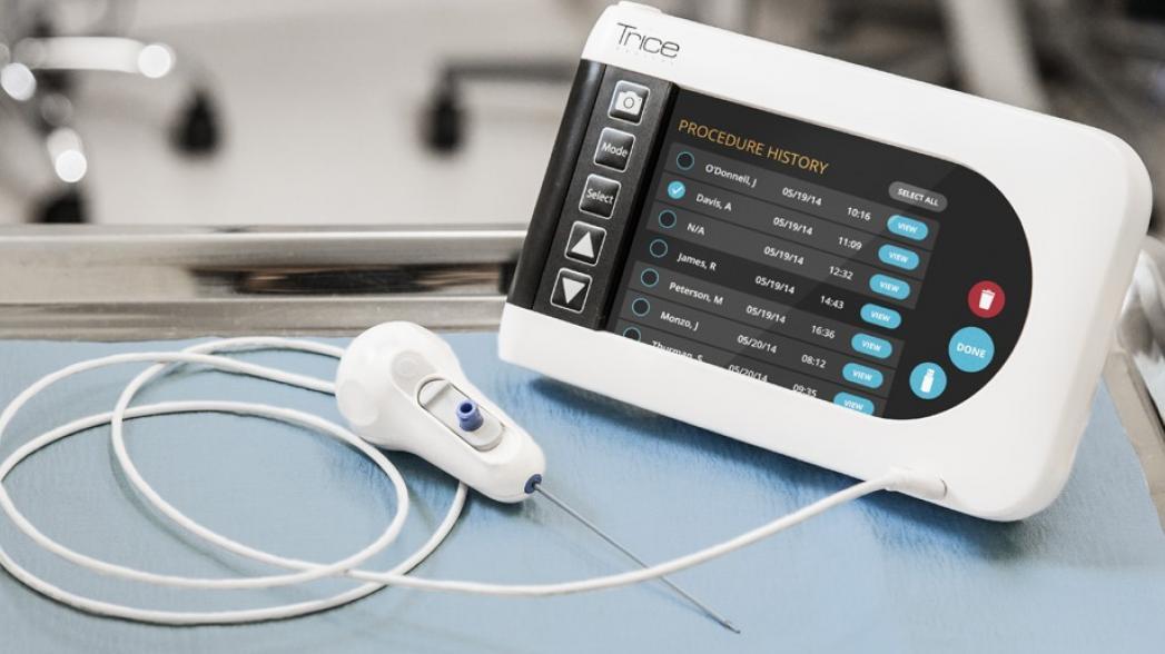 Портативное устройство для диагностики повреждений суставов