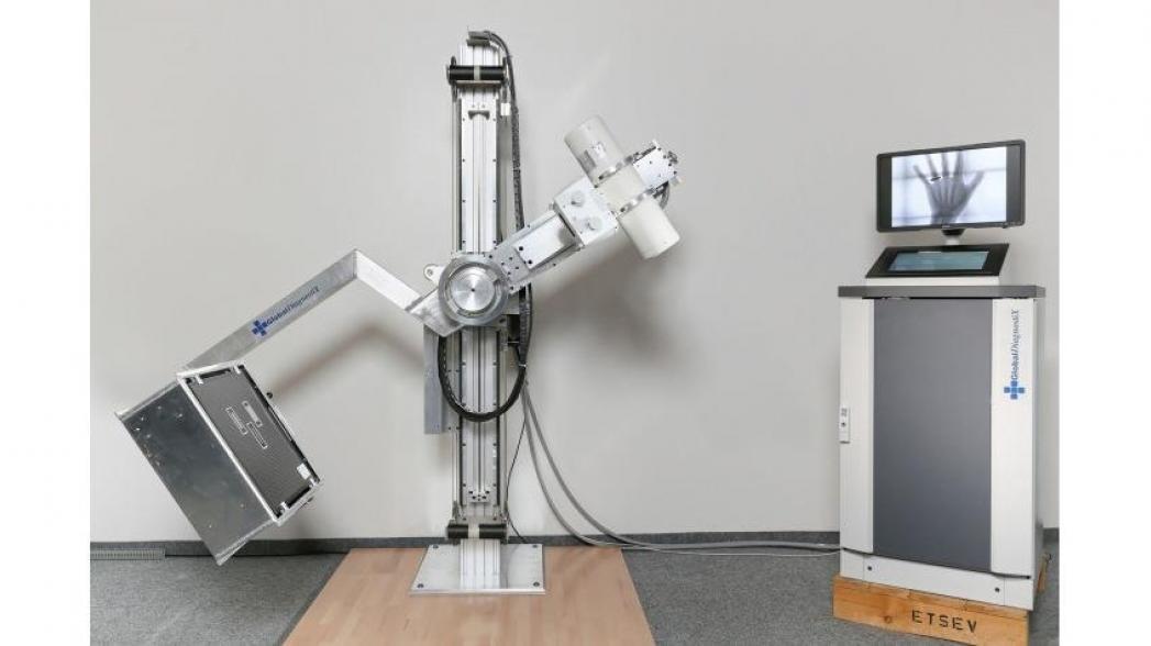 Дешевый рентгеновский аппарат, который может работать в любом месте