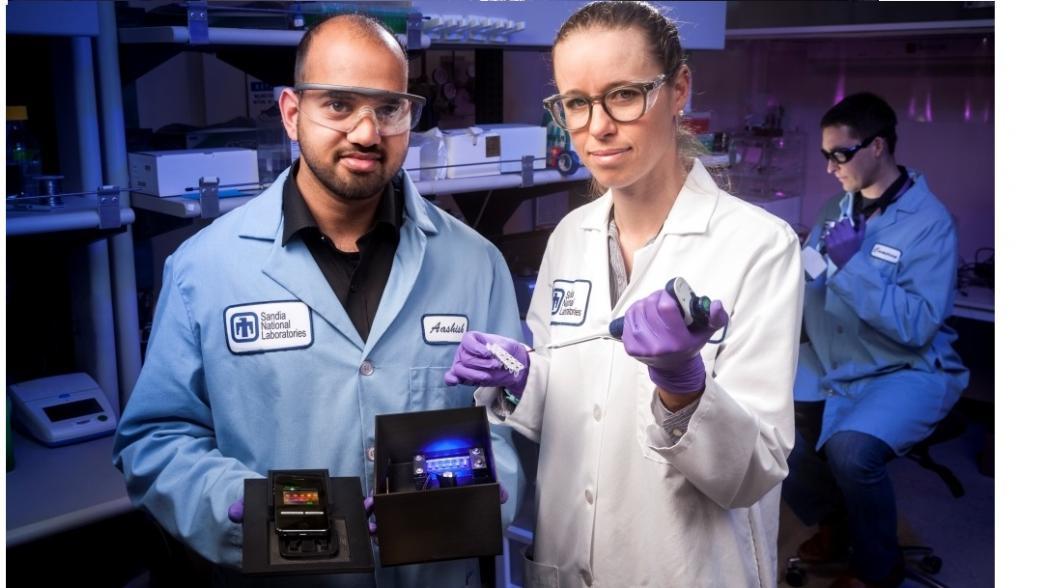 Мобильное устройство для быстрого обнаружения вирусов Зика, денге и чикунгунья
