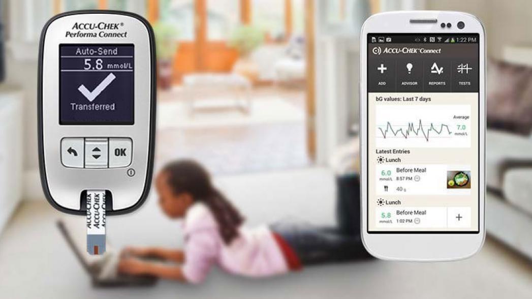 Глюкометры Accu-Check теперь используют приложение mySugr