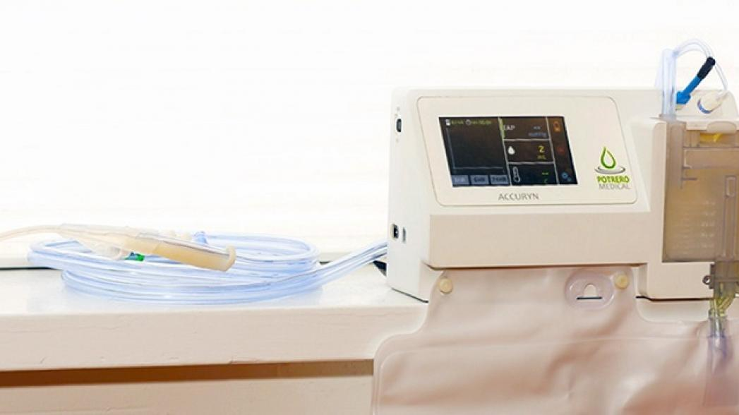 Многофункциональный уриметр от Potrero Medical