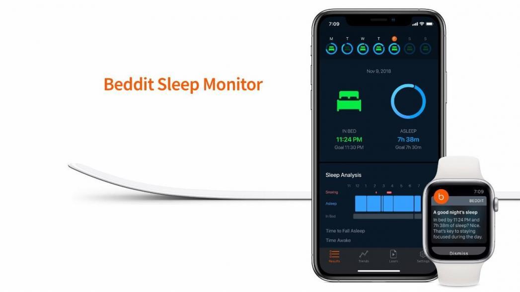 Новый трекер сна Beddit от Apple