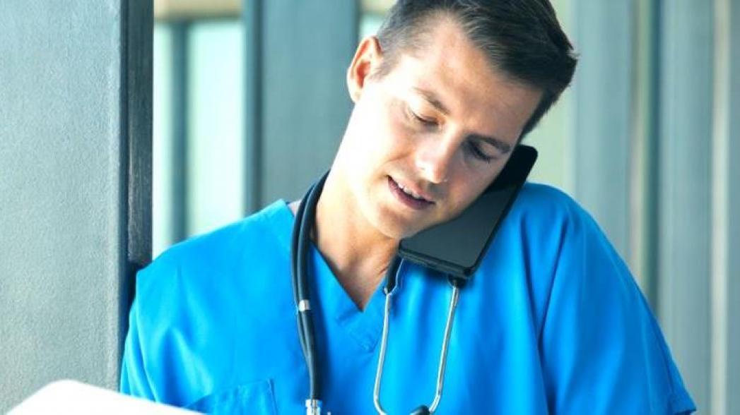 Смартфон, созданный для больничного использования