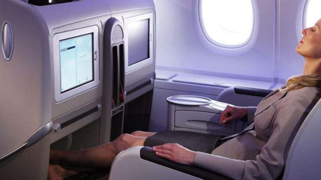 Система мониторинга здоровья для пассажиров самолета