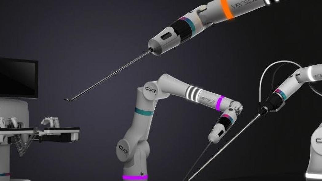Новый хирургический робот с революционными возможностями