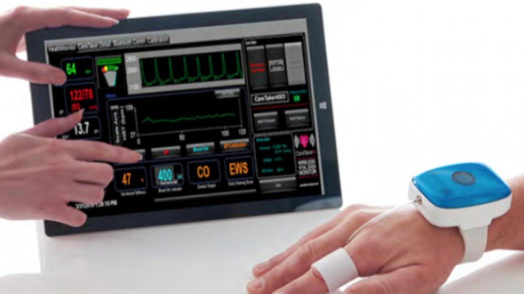 CareTaker: манжета на пальце для непрерывного мониторинга давления и пульса