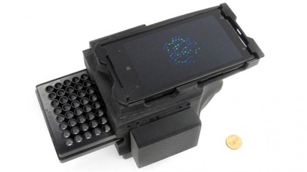 Портативный ДНК-детектор на базе смартфона