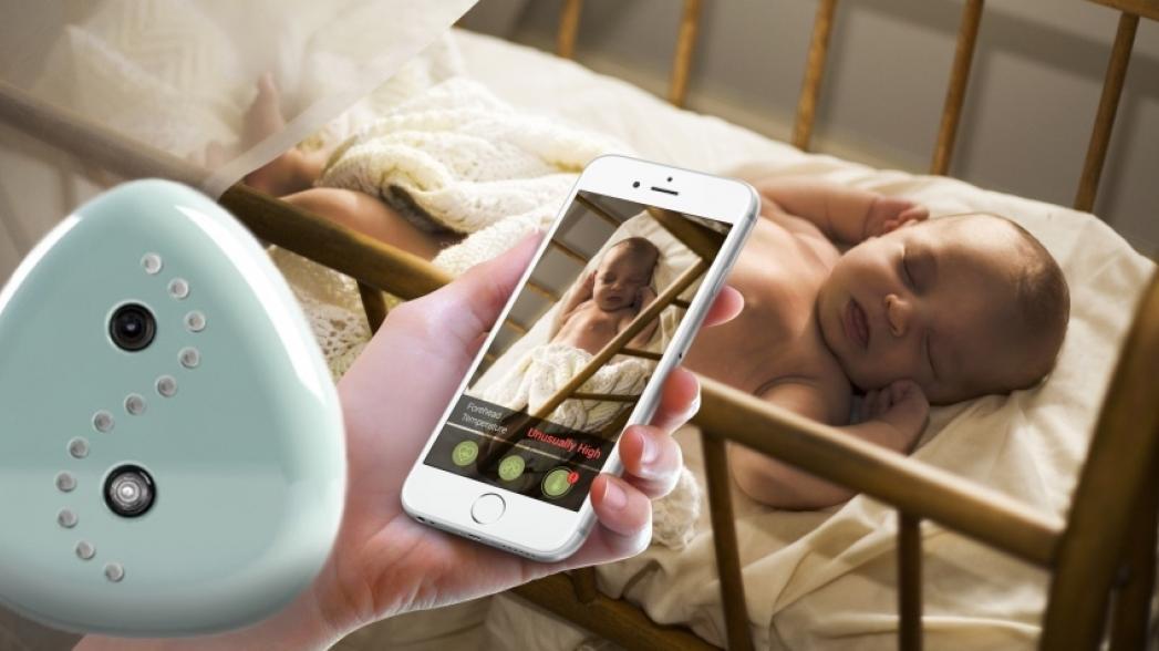 Видео-няня, которая контролирует здоровье ребенка