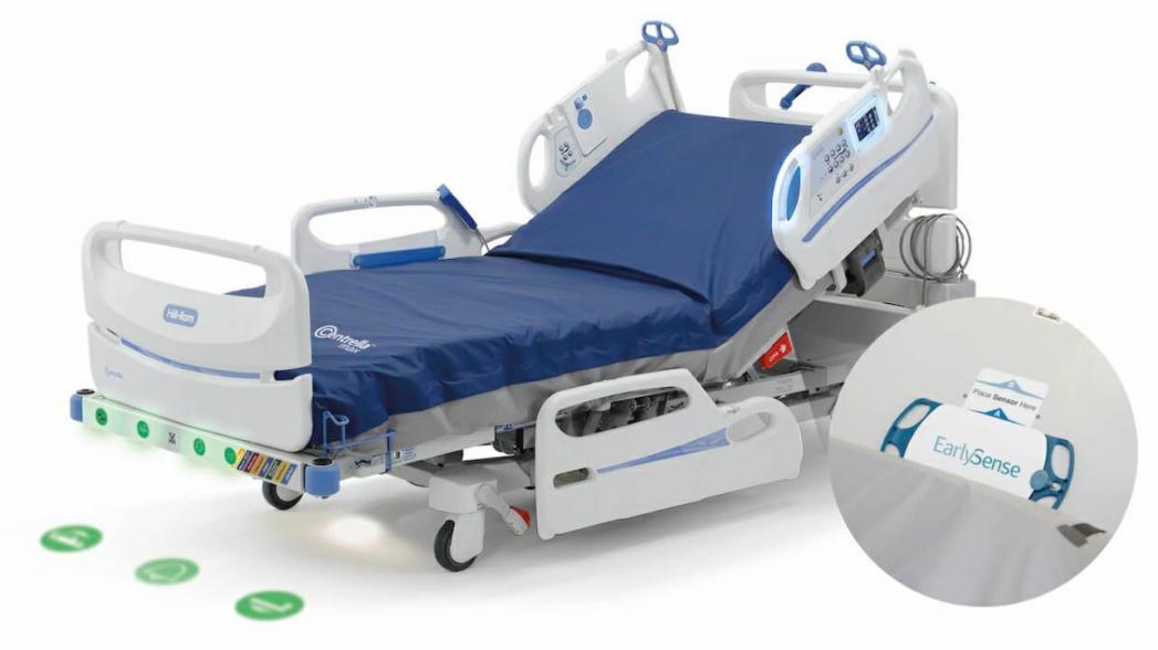 Больничная кровать со встроенной системой мониторинга