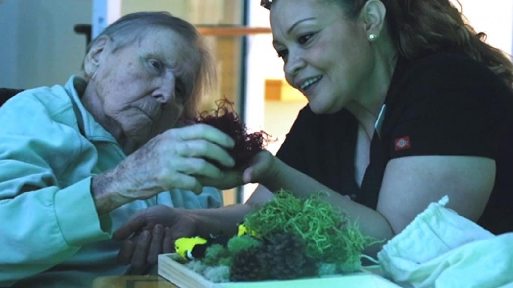 Мультимедиа помогает больным Альцгеймером возвращаться в реальность